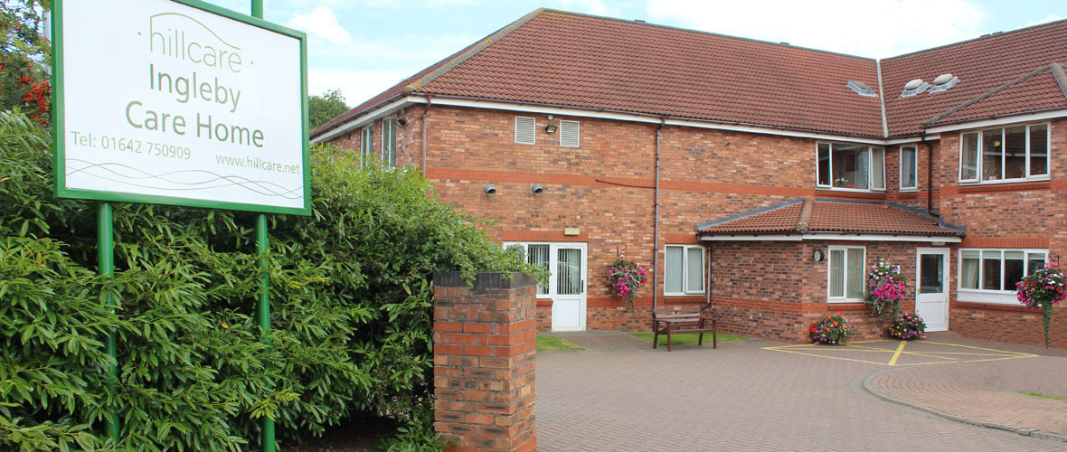 Ingleby dementia residential care home Barwick Stockton-on-Tees