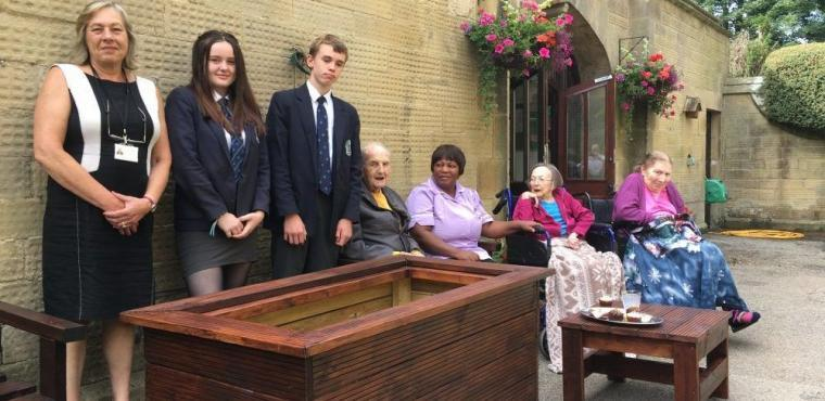 Students build furniture for elderly Bakewell residents