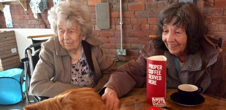 Cats and care home residents make purrfect friends