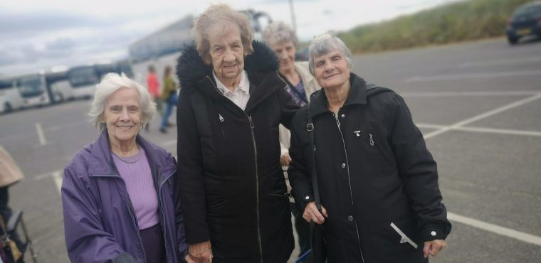 Seaside stroll down memory lane for 92-year-old Marion