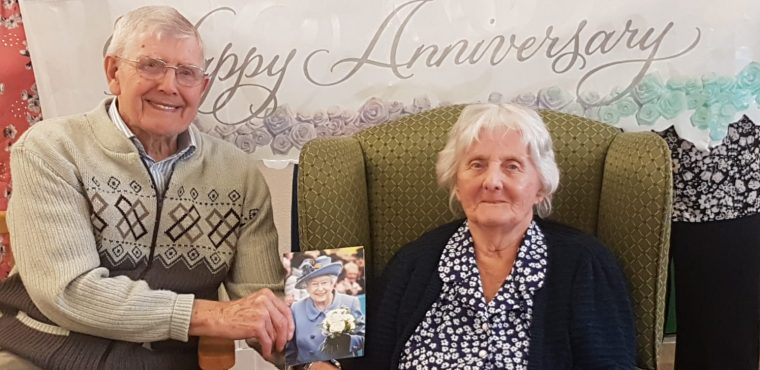 Platinum couple celebrate seven decades of marriage