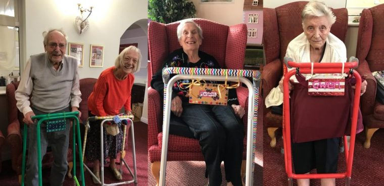 Zinged zimmers reduce falls at Derbyshire care home