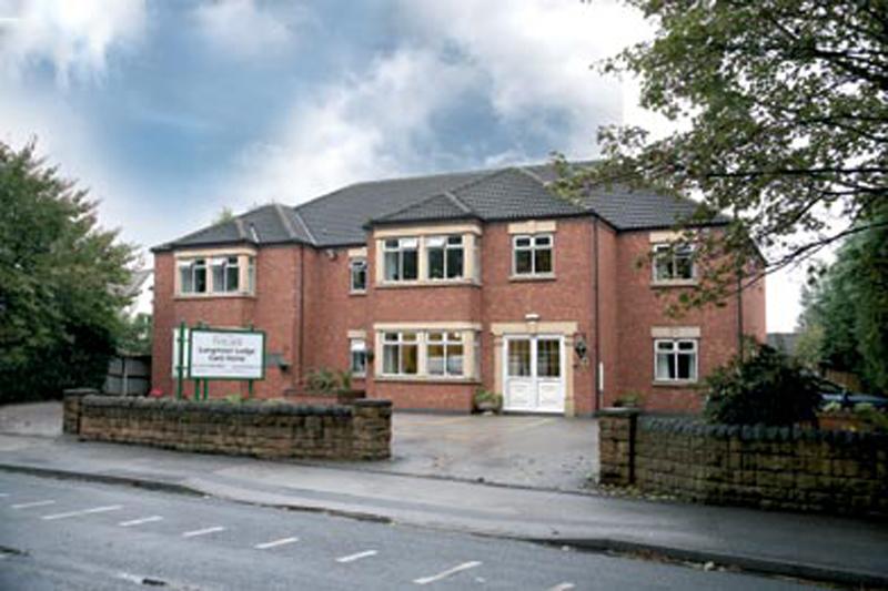 Longmoor lodge care home Nottingham front