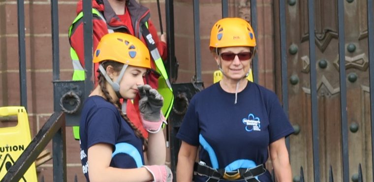 Abseil for Alzheimer's off Liverpool Cathedral raises over £900