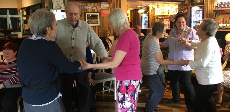 May Day sees residents spring to their feet for a dance