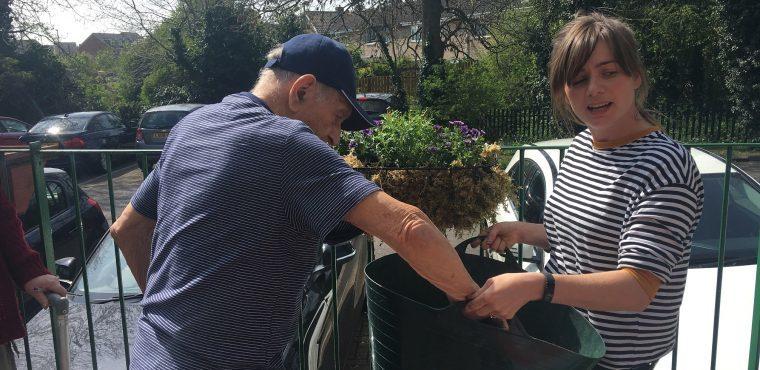 New approach sees elderly gardener get green fingers back