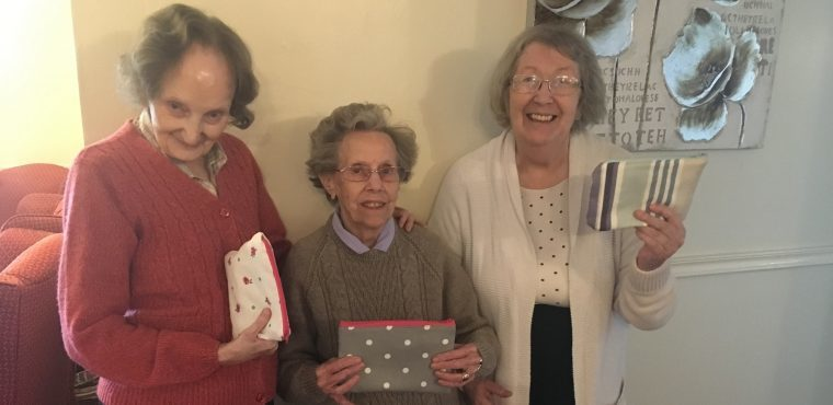 Vintage sewing machines get care home residents creating