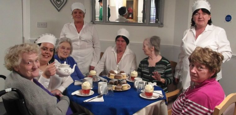 Afternoon tea raises awareness of new Age UK service