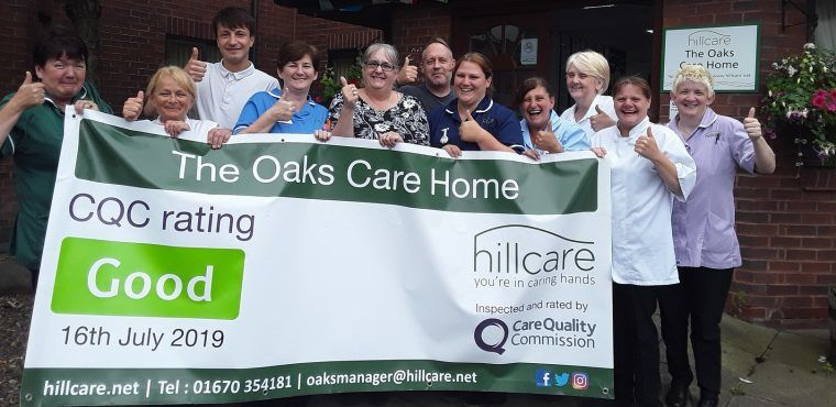 """Blyth care home given """"Good"""" by industry watchdog the CQC"""