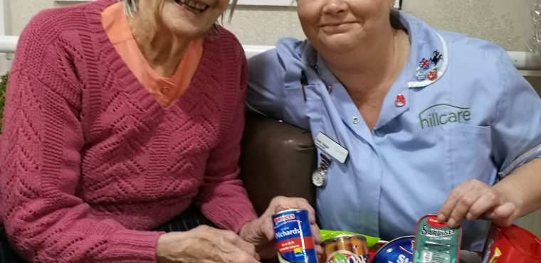 Care home collects over 20 festive hampers for lonely elderly