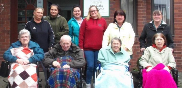 National Walking Month sees elderly visit Blyth Quayside