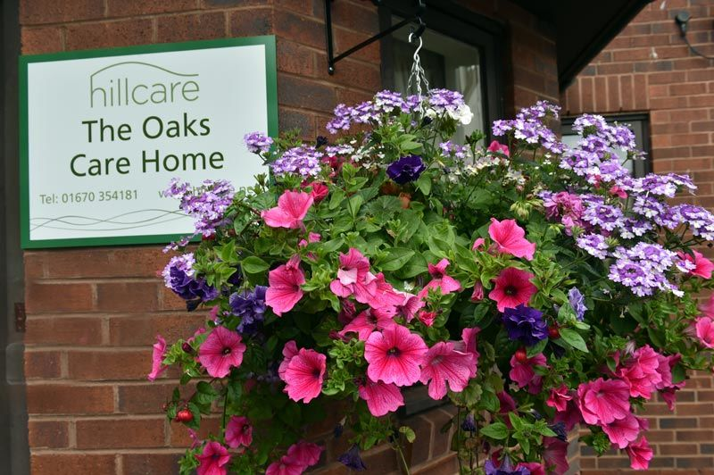Oaks home sign wall