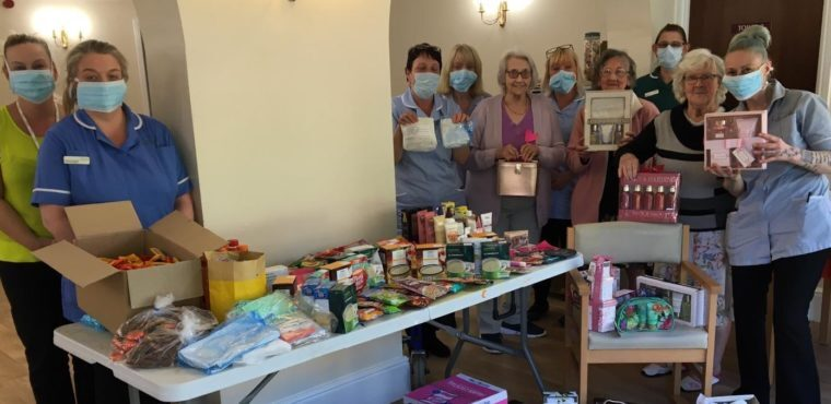 "Care home ""overwhelmed"" with gifts from Ossett community"