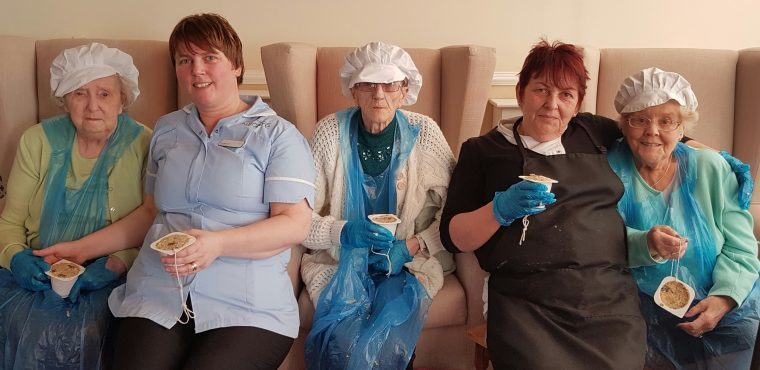 Care home twitchers take part in Big Garden Birdwatch