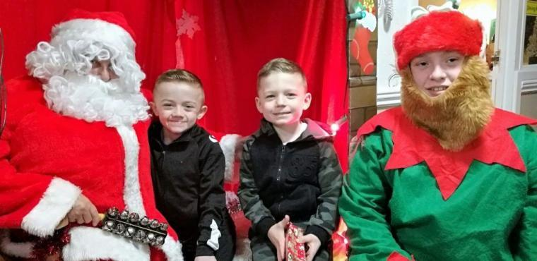 Santa helps raise over £1,000 for care home residents