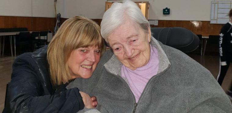 Residents enjoy dementia friendly screening of hit musical