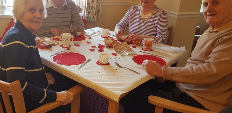 Romance for residents at The Beeches Care Home