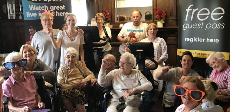 Care home cycling challenge raises funds for dementia fight