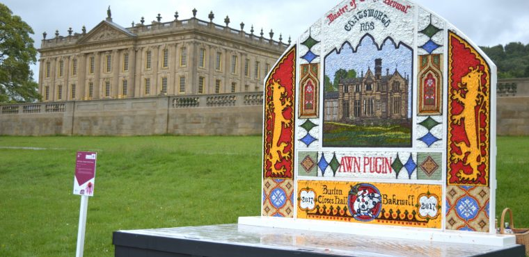 Bakewell team wins first ever RHS Welldressing Competition