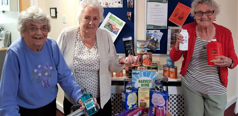 Care home joins Church in call for foodbank donations