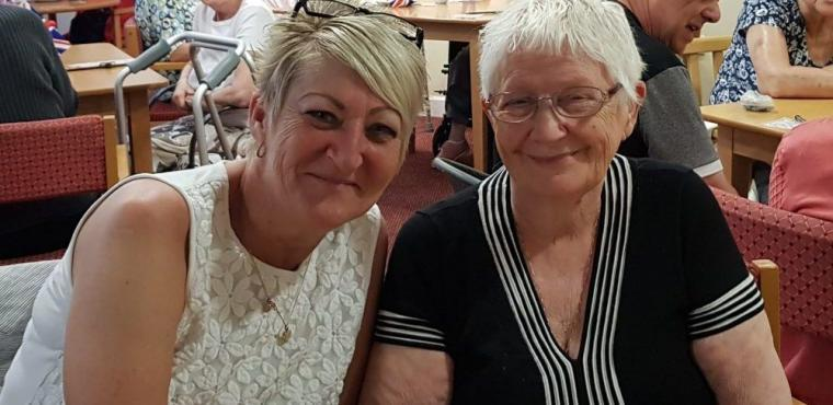 Fundraiser for donkey visit to Hartlepool care home