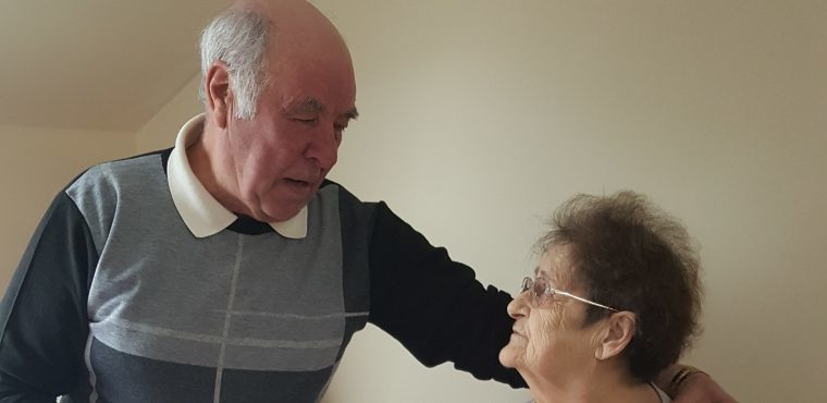 Valentine's meal for care home couple married over 50 years