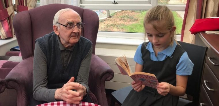 Roald Dahl brings primary school pupils and elderly together