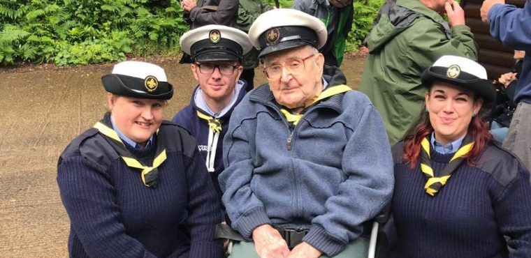 Veteran Scout leader Vernon invited to awards event