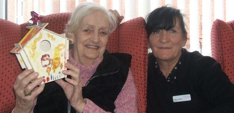 Birdwatch brings mini-mascot to Runcorn care home