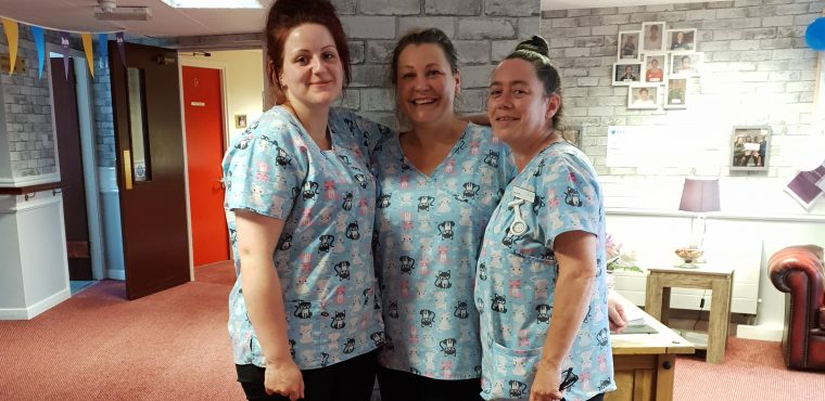 Pyjama scrubs reduce sleep deprivation at Runcorn care home