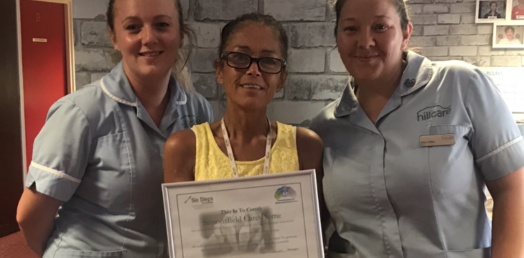 Runcorn care home workers achieve end of life care award