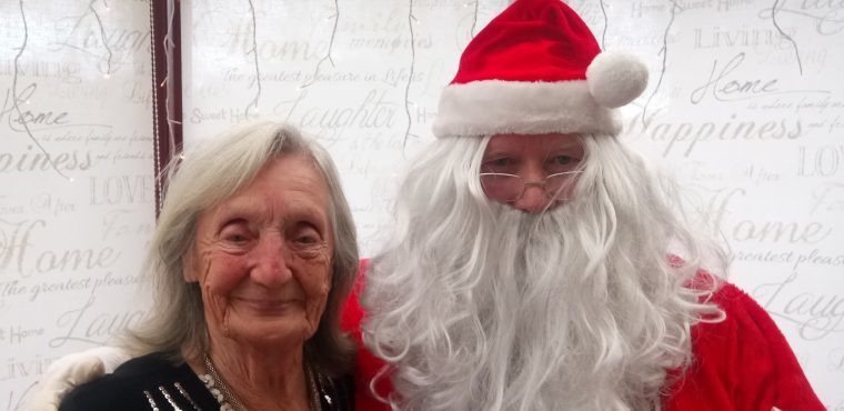 Festive fun at Chesterfield care home raises hundreds