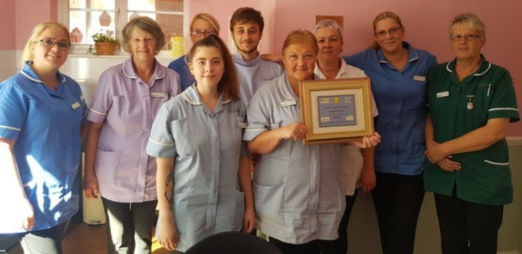 Dignity award for Chesterfield care home