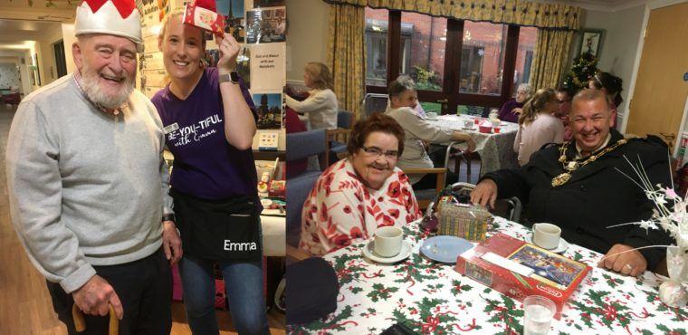 Care home Christmas fair raises hundreds for residents