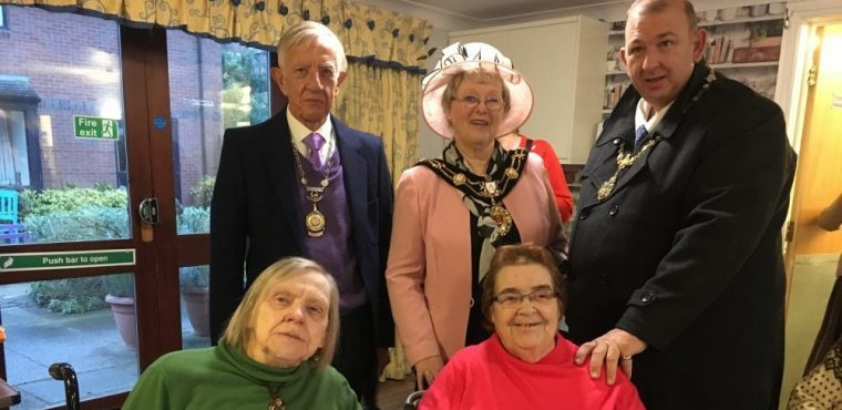 Hundreds raised for residents at care home Christmas fayre