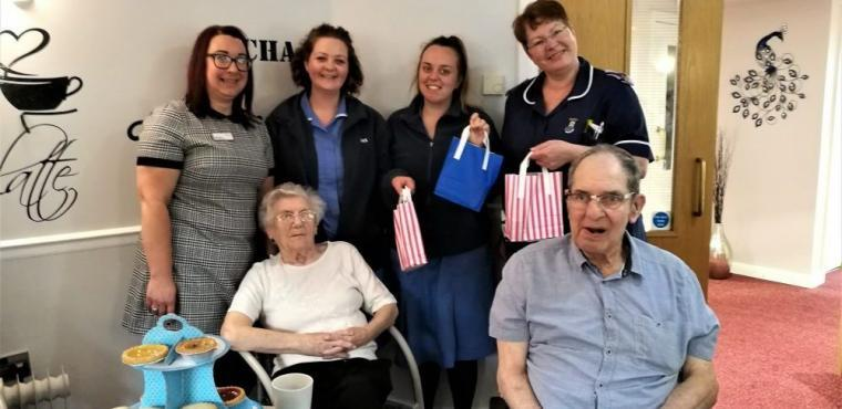 International Nurses Day marked at Teesside home