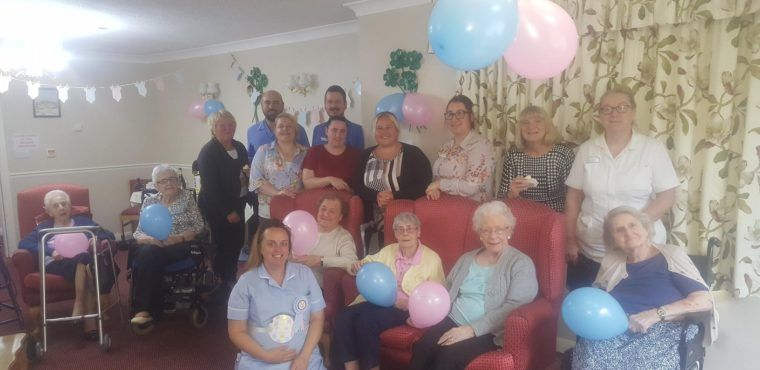 Residents Throw Surprise Baby Shower For Their Nurse