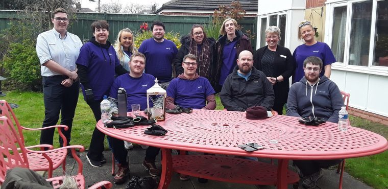 BT call centre staff volunteer at Teesside care home
