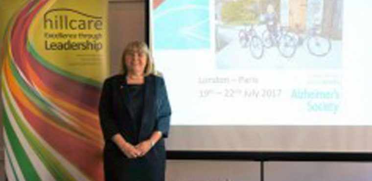London to Paris charity cycle ride for Hill Care MD