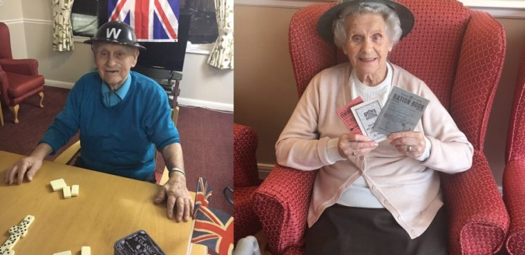 Remembering World War 2 at The Beeches Care Home