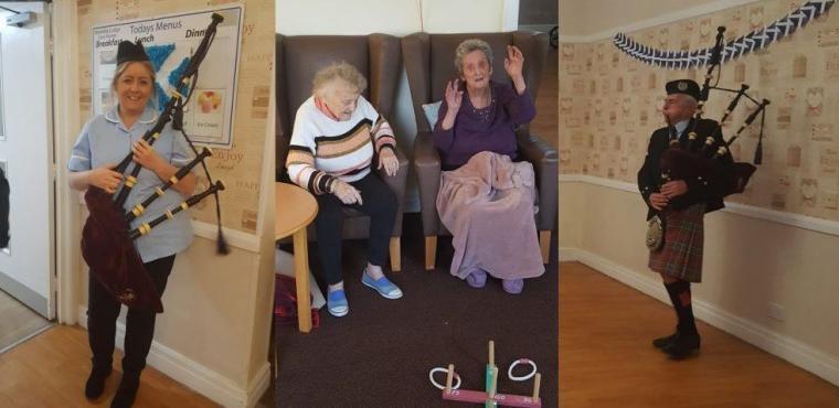 Burns Night brings Scotland to Tyneside care home