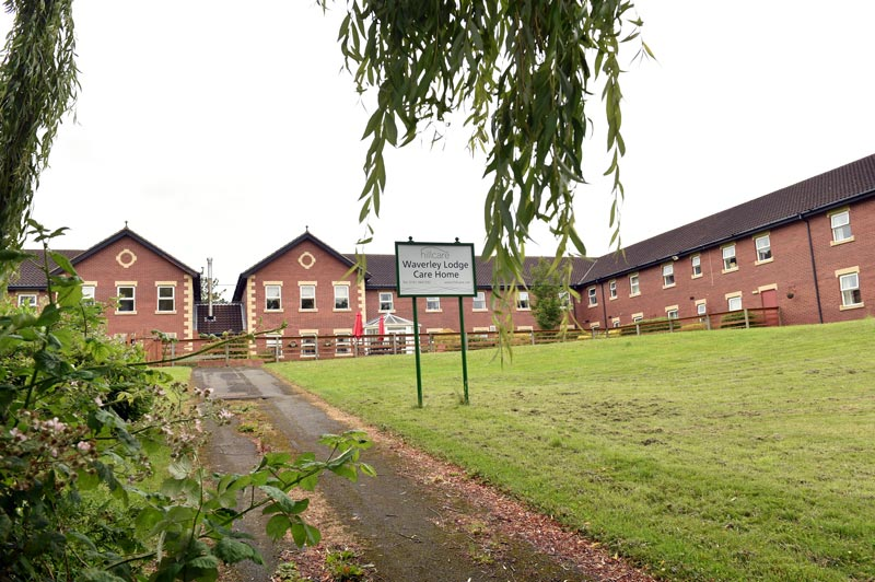waverley lodge care home