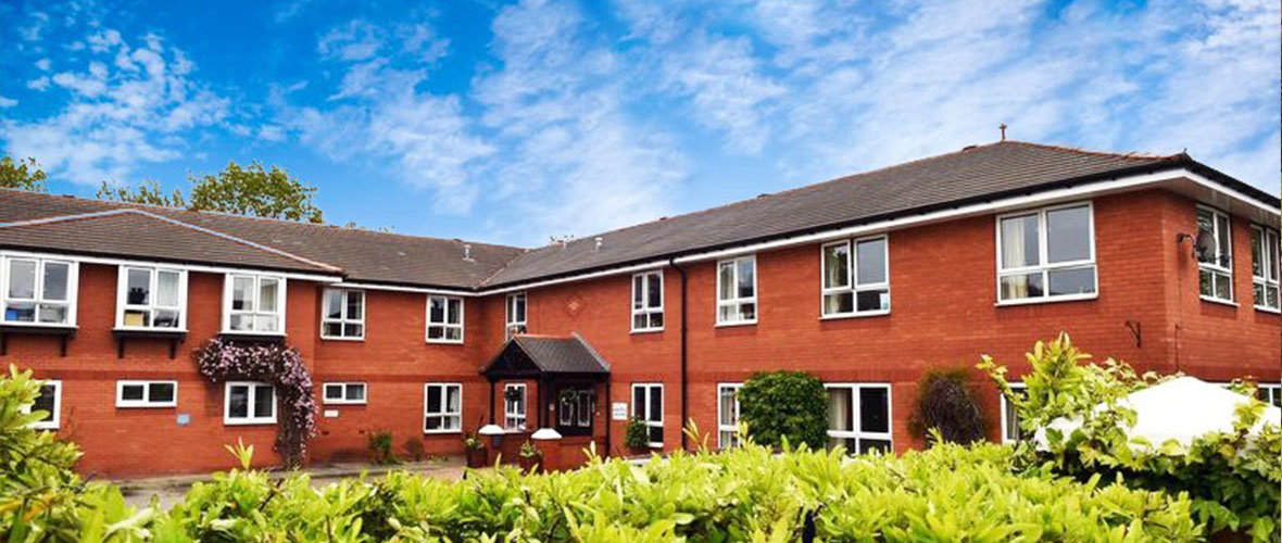 aaron court care home Ellesmere Port Cheshire