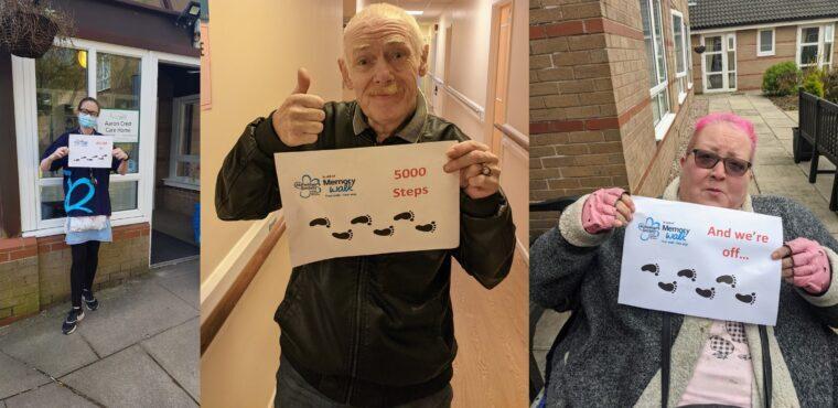 Care home Memory Walk raises funds for Alzheimer's Society