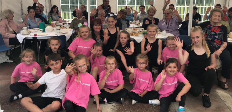 "Pupils' ""royal"" performance impresses care home residents"
