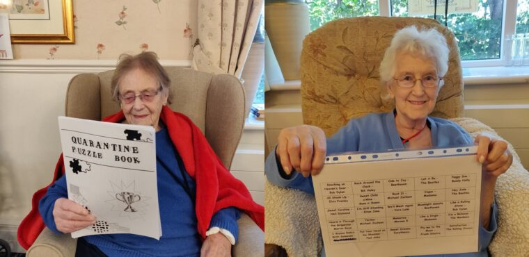 Elderly receive letters from Huddersfield Giants NCS students