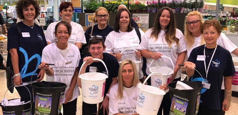 Charity bag pack raises over £800 for Alzheimer's Society