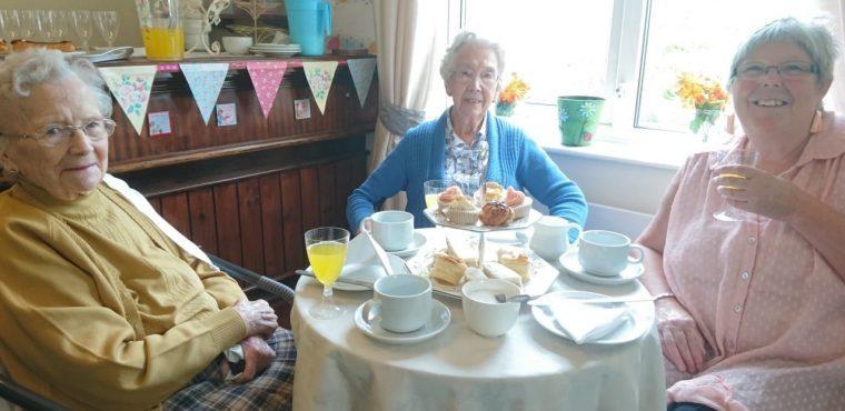 Peterlee care home marks Afternoon Tea Week