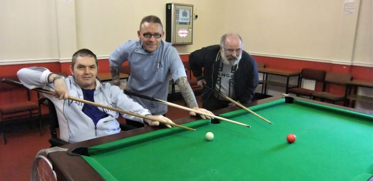 Elderly reminisce about the old times at Peterlee social club