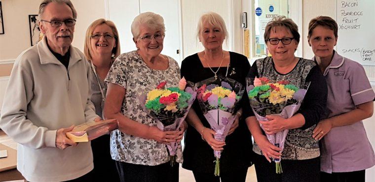 Volunteers celebrated at Peterlee care home